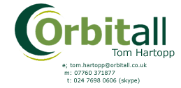 Business Card - Tom Hartopp